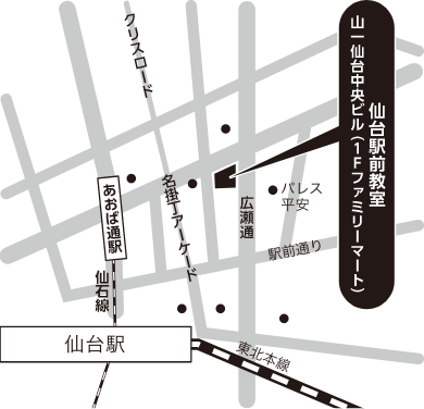 仙台会場地図